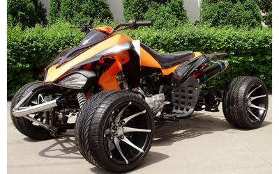Blazing Glory 125cc ATV